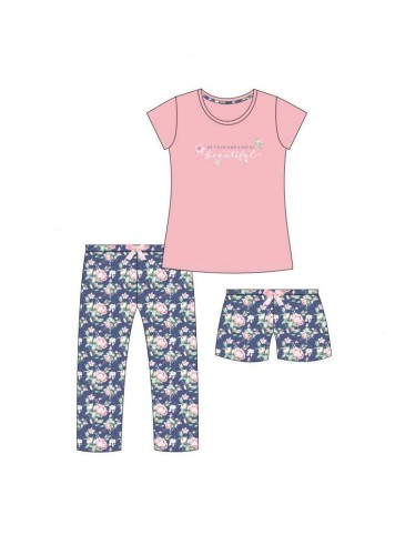 Pižama Cornette 3 IN 1