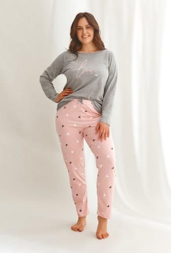 Pižama Taro 2608 4XL-6XL